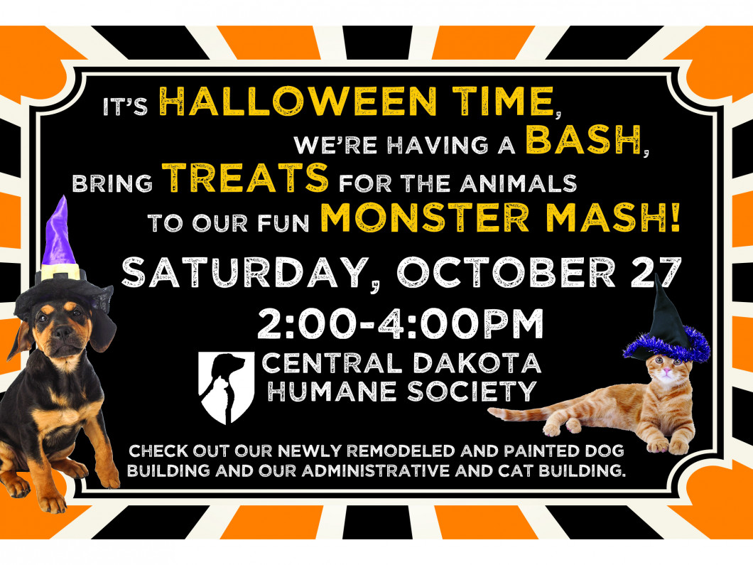 Join our Monster Mash!