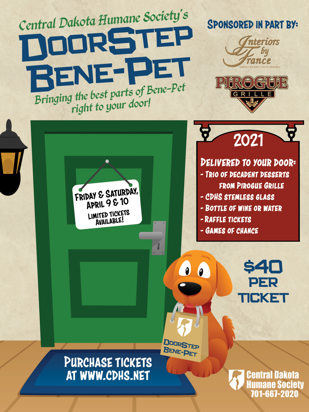 Join us for DoorStep Bene-Pet!